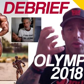 Debriefing Mr olympia 2018 episode 2