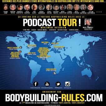 Podcast tour bodybuilding rules Magazine
