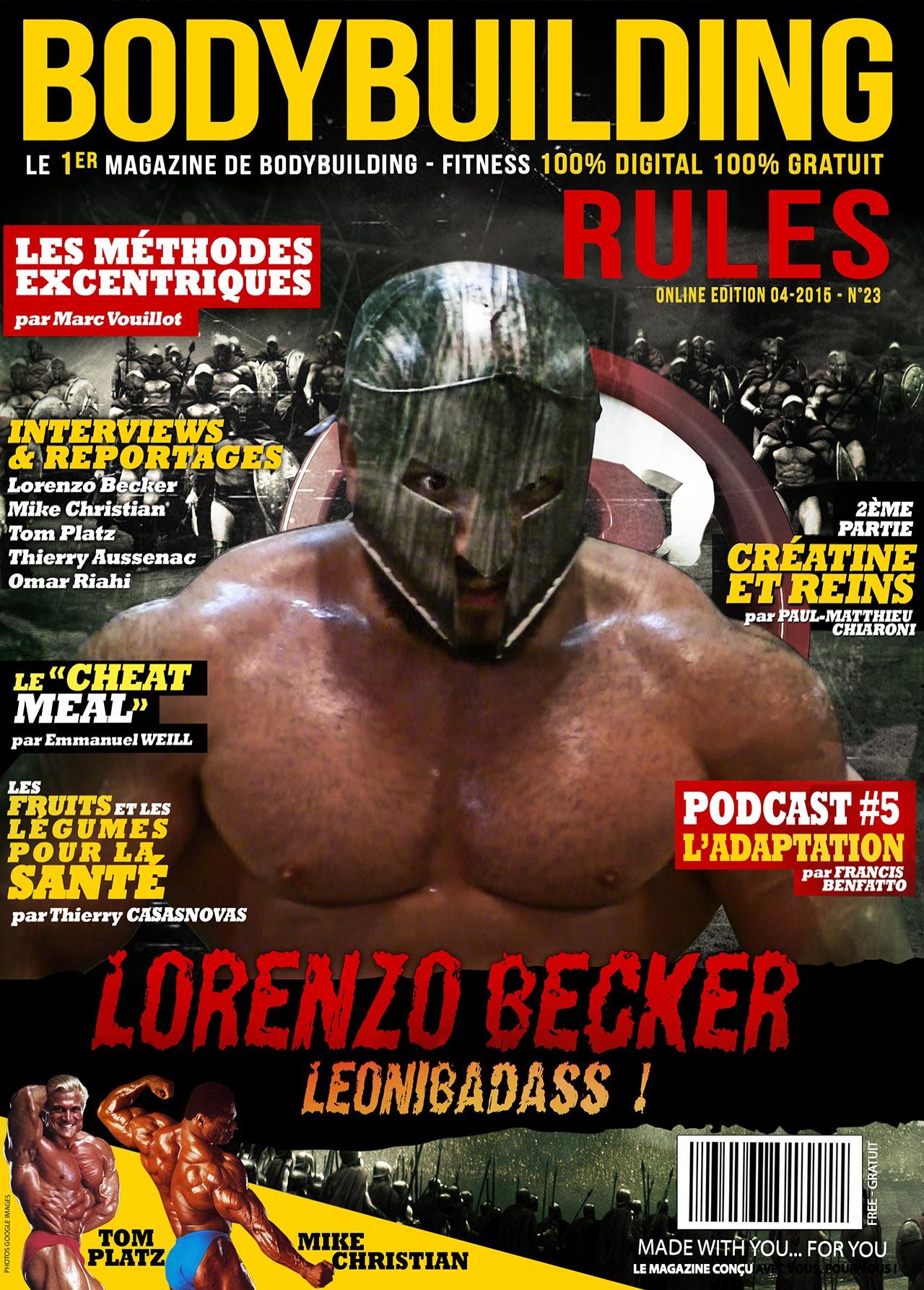 magazine - www.bodybuilding-rules.com le magazine interactif GRATUIT  1bbrM23